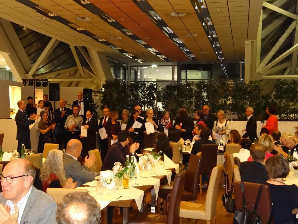 Cena de Gala donde se entregaron los respectivos Premios de BOAF