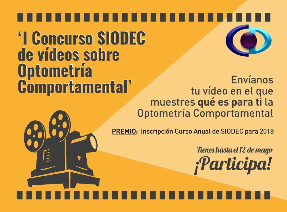 Concurso vídeos SIODEC