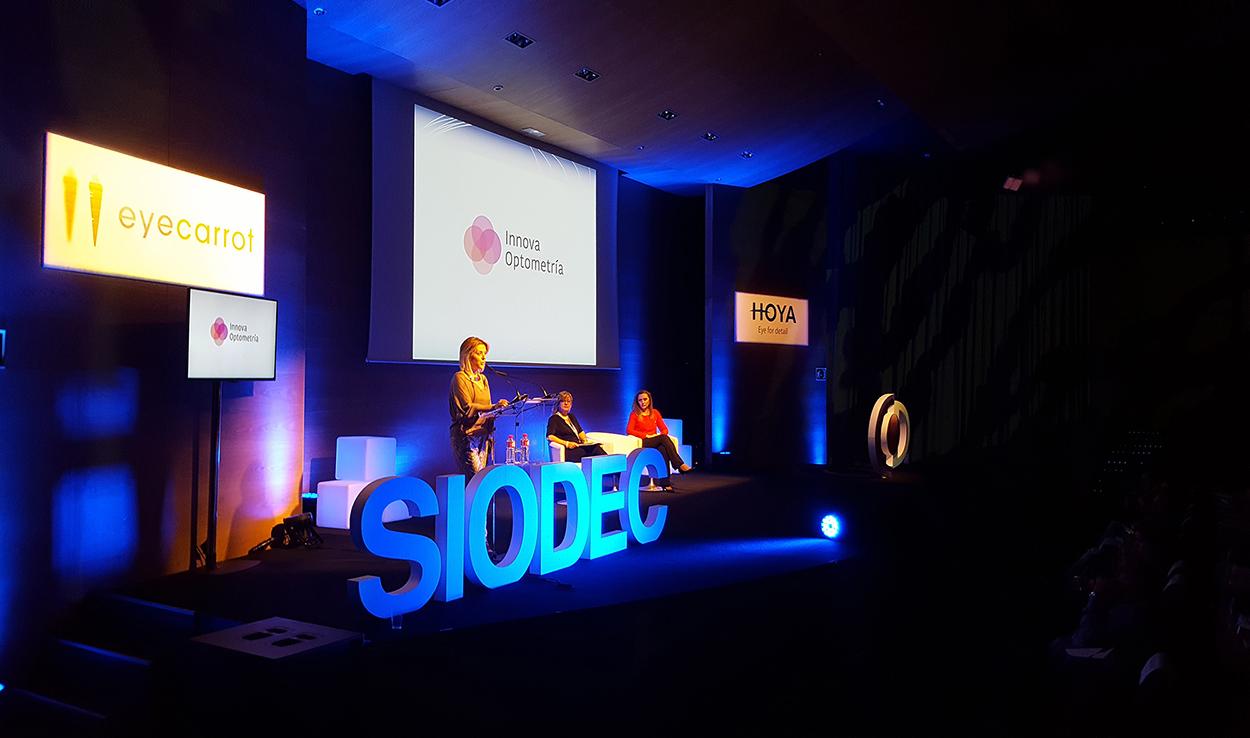 Laura Alonso, presidenta de SIODEC, inaugura el V Congreso Internacional sobre Optometría Comportamental y Terapia Visual en Toledo ante más de 300 profesionales de la visión de 13 países_