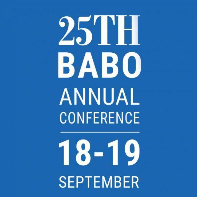 El Congreso anual de la asociación inglesa BABO se celebrará durante el 18 y 19 de septiembre en Londres