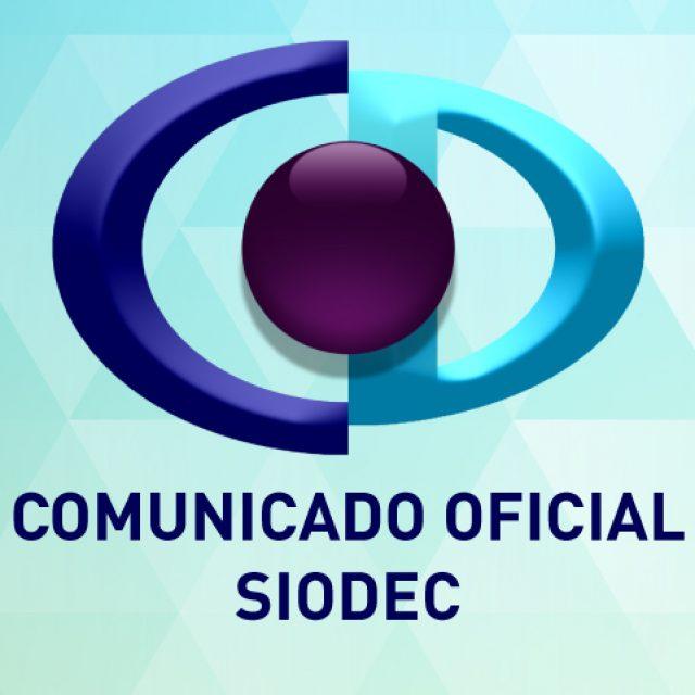 Comunicado oficial de SIODEC sobre vídeos formativos publicados por la UNIR