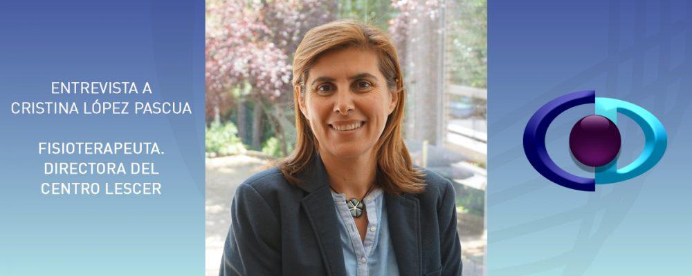 """Cristina López Pascua: """"Los optometristas consiguen resultados positivos en la mejora del déficit visual de pacientes con daño cerebral adquirido facilitando nuestro tratamiento"""""""