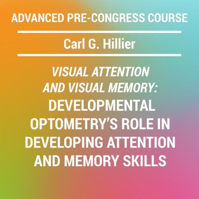Advanced Pre-Congress Course