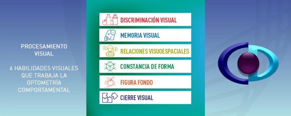 6 habilidades visuales que trata la Optometría Comportamental en el procesamiento visual
