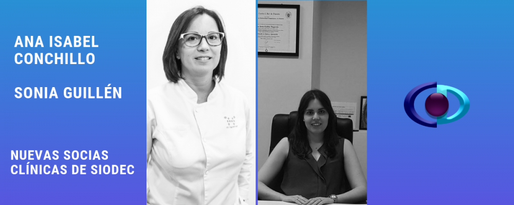¡Seguimos sumando! ¡Descubre qué dos optometristas son nuevas Socias Clínicas de SIODEC!