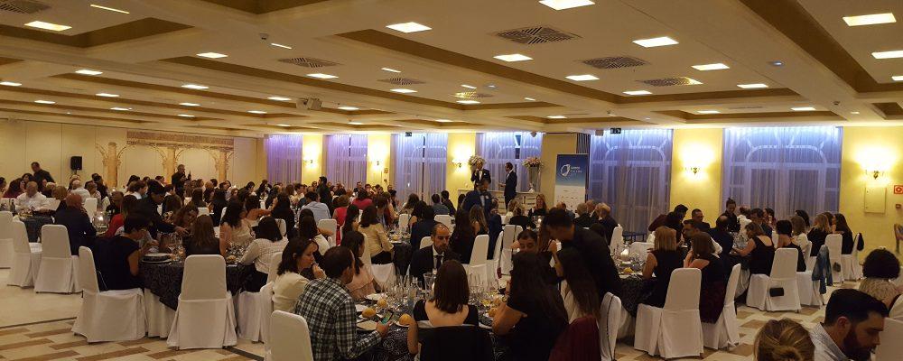 Cena de Gala del V Congreso de SIODEC: noche de premios y reconocimientos