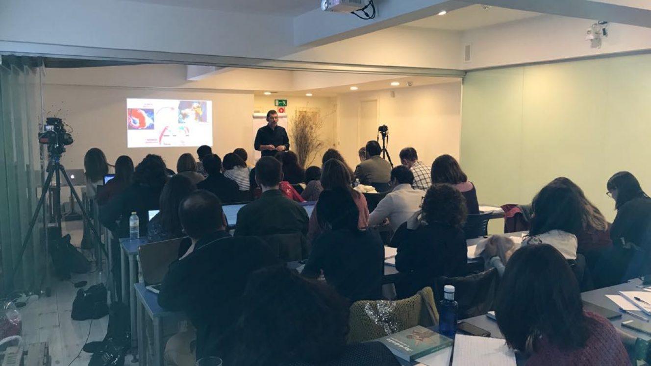Curso de Iñaki Pastor 'El neurodesarrollo visual y motor: los cimientos del sistema visual'