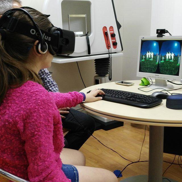 Nuevas tecnologías aplicadas a la rehabilitación de la visión pueden recuperar la capacidad de ver en 3D hasta un 70%