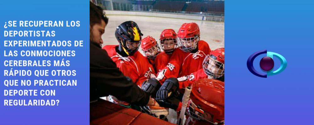 ¿Se recuperan los deportistas experimentados de las conmociones cerebrales más rápido que otros que no practican deporte con regularidad?