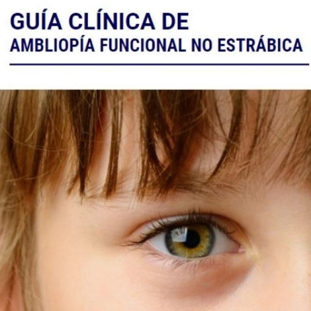 «Guía clínica de ambliopía funcional no estrábica» de SIODEC