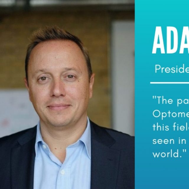 """Adam Cegielski: """"The passion for Behavioral Optometry, and the growth of this field in Spain, has not been seen in any market around the world.  """""""