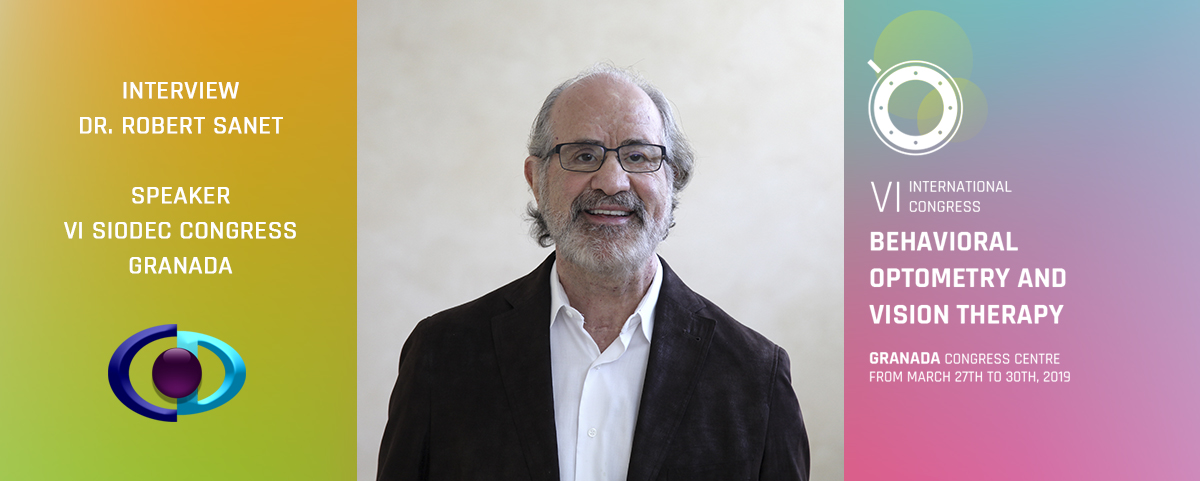 """Dr. Robert Sanet: """"It is important for Optometrists to understand the scientific research so that they can be more comfortable that the work that they do has scientific validity"""""""